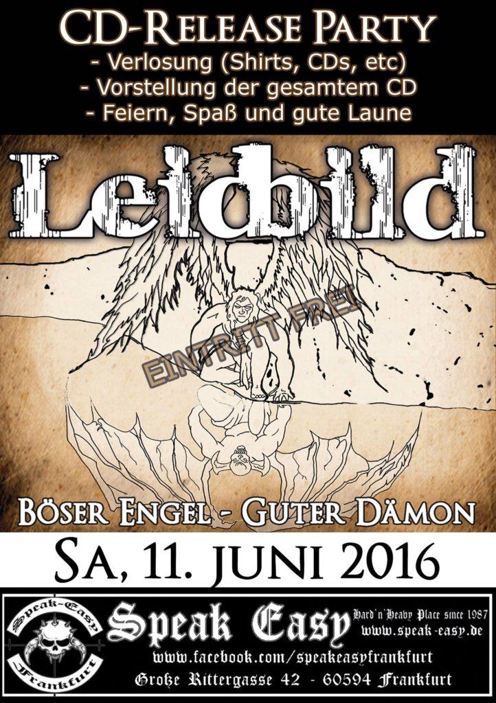 Flyer-CD-Release Leidbild