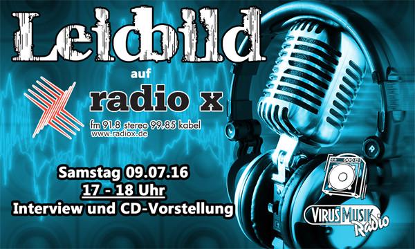Leidbild bei radio x